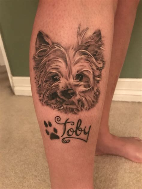 yorkshire terrier tattoo designs yorkie toby tattoos tattoos