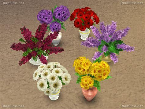 Set Flower 4 flower set 2 for the sims 4 darasims net