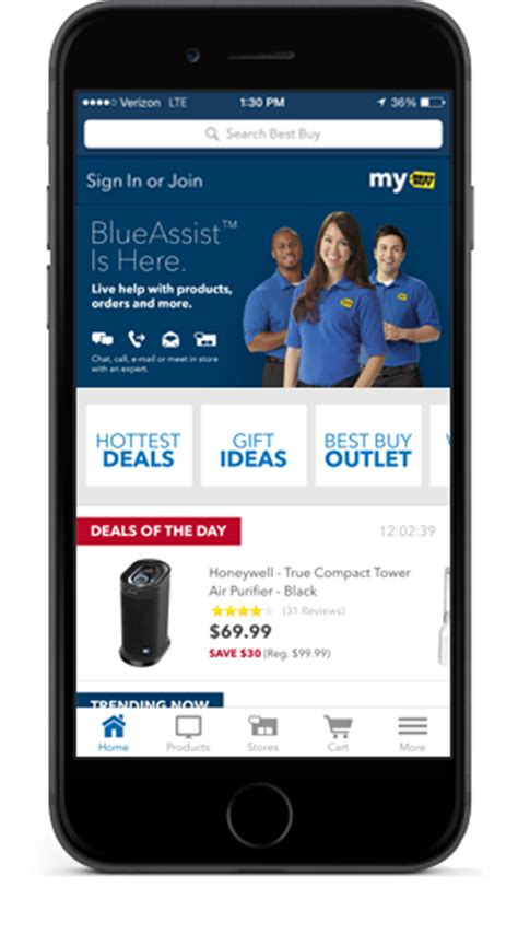 purchase mobile blueassist puts best buy s expert service in the palm of