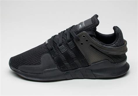 Sepatu Adidas Eqt Cushion Support Adv White Black Premium Quality adidas eqt support adv black sneakernews