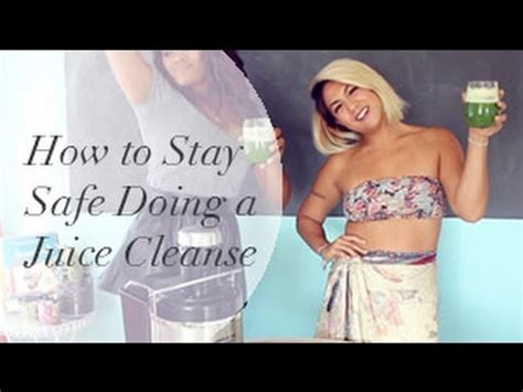 How To Do A Detox At Home by How To Do A Safe Juice Cleanse At Home