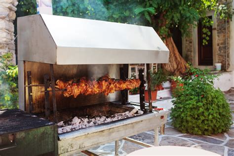 backyard rotisserie 33 outdoor kitchen ideas and designs pictures