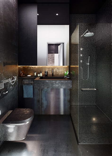 Modern Bathroom Style by 51 Industrial Style Bathrooms Plus Ideas Accessories You