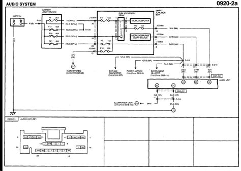 2005 mazda tribute wiring schematic wiring diagrams