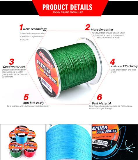 Pancing Lazada proberos benang pancing premier pro series braided thick 0