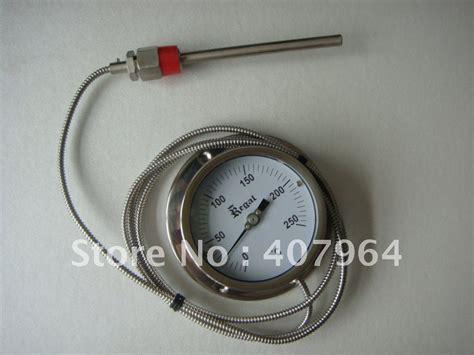 Bimetal Termometer Capillary buy wholesale bimetal thermometer from china