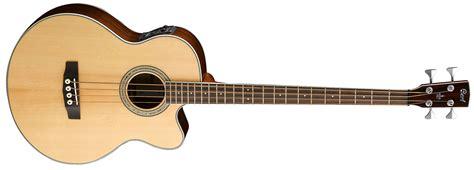 Cort Sjb 6fx Nat cort sjb6fx nat naturel elektro akustik bas gitar