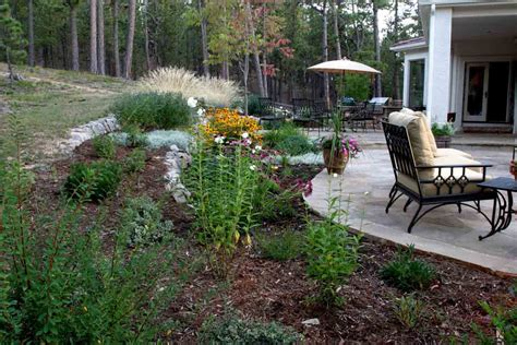 Landscape Ideas For Backyard Backyard Patio Landscaping Marceladick