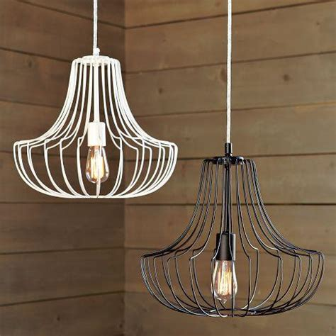 Wire Pendant Lighting Small Wire Pendants West Elm