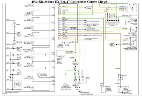 wiring diagram 2005 kia sedona wiring diagram with