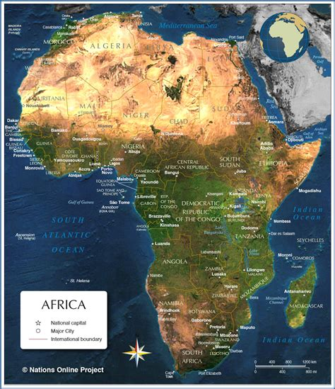 map of africa countries map of africa countries of africa nations project