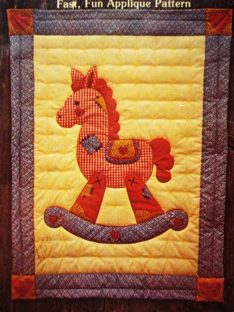 rocking horse quilt pattern woodworking projects plans
