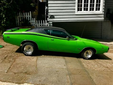 charger green 1971 dodge charger green 2 door for sale dodge