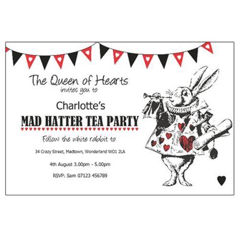 mad hatter tea invitation template free mad hatter invitation orderecigsjuice info