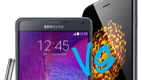 samsung galaxy note 4 review pc advisor samsung galaxy note 4 vs iphone 6 comparison review pc advisor