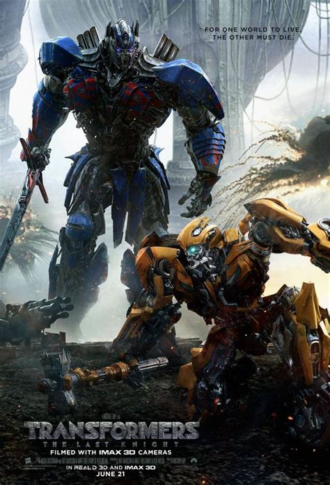 Transformer L by Optimus Prime Vs Bumblebee Sul Nuovo Poster Di