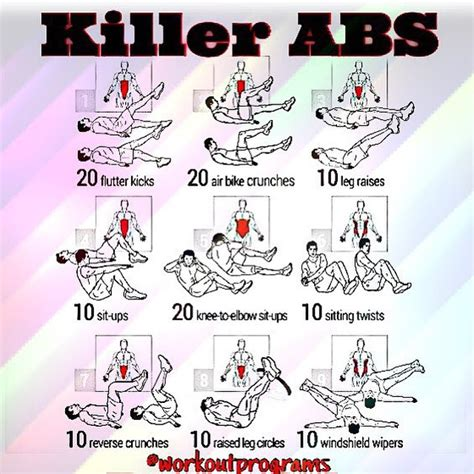 just completed this workoutprograms killer abs workout