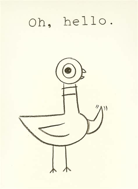 free mo willems pigeon coloring pages