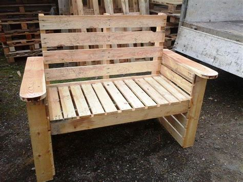 wooden pallet benches diy pallet bench and chair set 101 pallet ideas