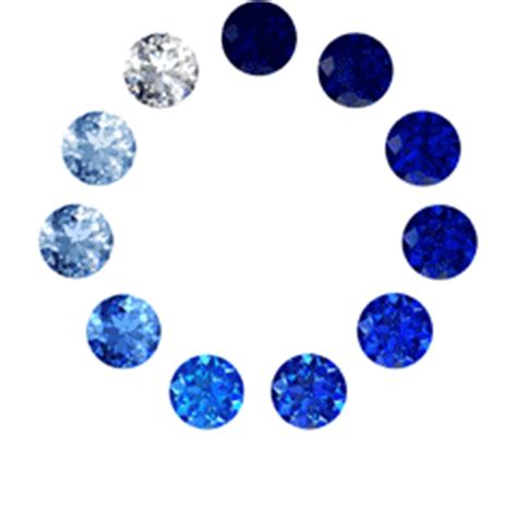 image gallery sapphire colors
