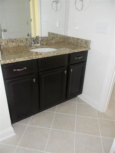 timberlake bathroom cabinets giallo ornamental granite ceramic floor tiles and