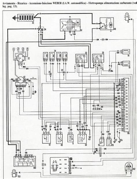 alfa romeo wiring diagram alfa romeo spider wiring diagram alfa romeo q4