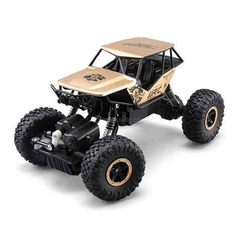 Rc Rock Crawler Alloy Material 4wd Skala 1 16 2 jjrc q50 rc climbing car rtr gold