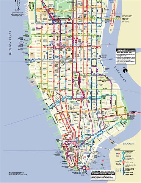 map de new york le et le m 233 tro 224 volont 233 le bon plan transport 224 new
