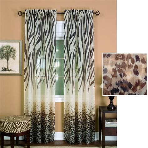 sheer animal print curtains pinterest discover and save creative ideas