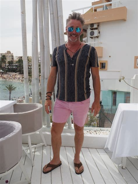 mens fashion ibiza  style traveller