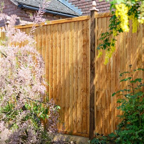 grange closeboard pressure treated fence panel ft mm