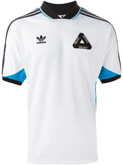 Sport Tshirt lyst palace adidas x sports t shirt in white for