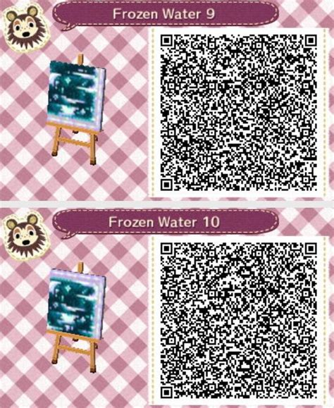 clothing themes new leaf frozen water animal crossing new leaf qr codes