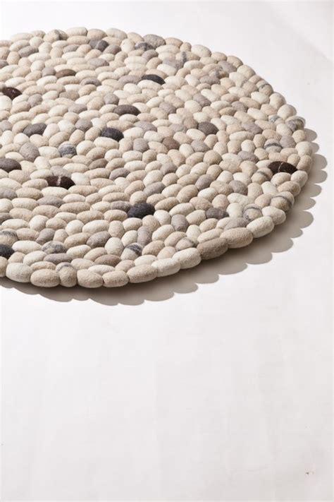 Wool Felt Rugs by Pebbles Wool Felt Rug Wool