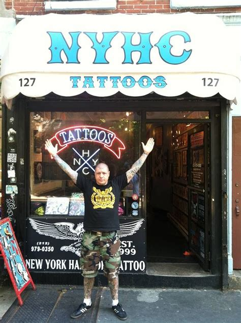 new york hardcore tattoo newyork tattoos musicians
