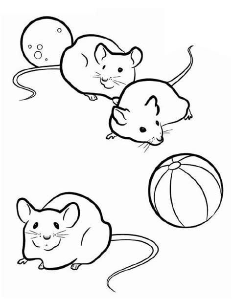 baby mouse coloring page drawn mice baby mouse pencil and in color drawn mice