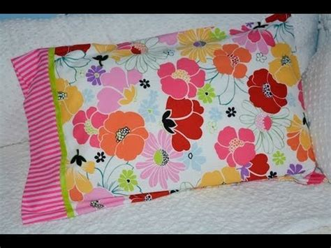 pillowcase pattern youtube four seam pillow case youtube