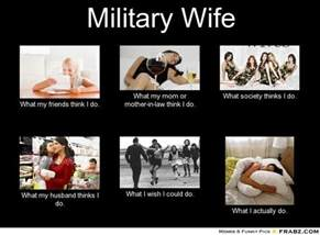 Husband Wife Meme - military wife meme