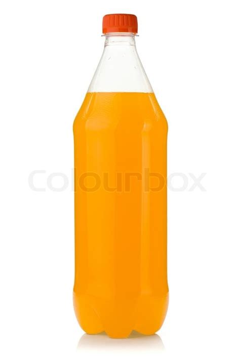 Soda Colour Bottle My Bottle orange soda bottle stock photo colourbox