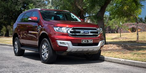ford vehicles 2016 ford everest trend review caradvice