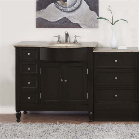 off center sink bathroom vanity 58 quot kelston bathroom single vanity off center right sink