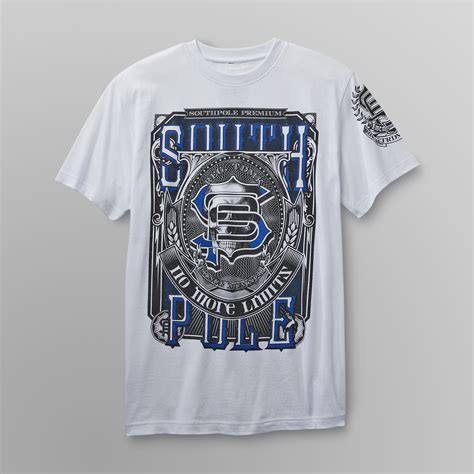 design t shirts with glitter letters southpole men s big tall glitter t shirt no more