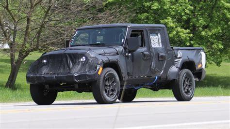 jeep wrangler ute  spy shots car news carsguide