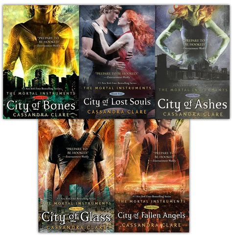 The Mortal Instruments 1 5 By Clare mortal instruments series clare 5 books