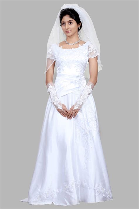 White Wedding Gown Shopping by White Wedding Gowns Shopping India