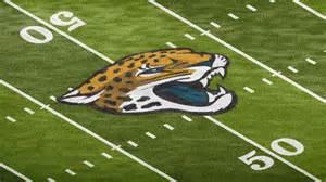 Jaguar Football Logo Football Field Grass Logo Mockup Template