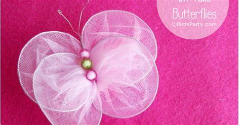 organza butterfly tutorial diy new sew tulle butterflies tutorial party ideas