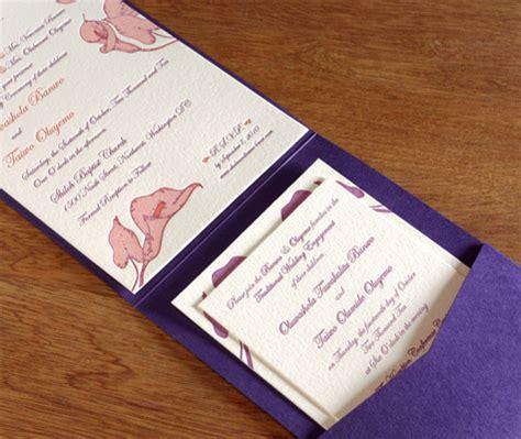 wedding invite folders pocket folders for wedding invitations wedding ideas and