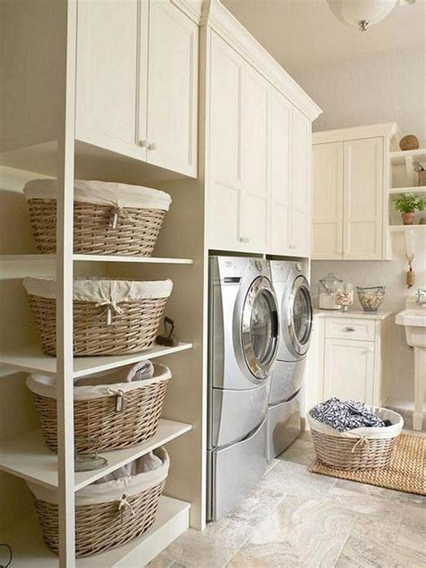 Storage For Small Laundry Room 40 Clever Laundry Room Storage Ideas Home Design Garden Architecture Magazine