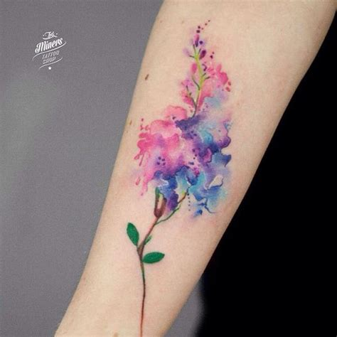 watercolor tattoo wildflowers 30 absolutely gorgeous wildflower tattoos amazing